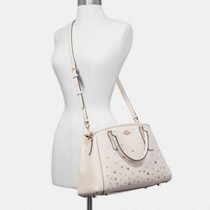 Coach star studded purse